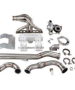Cxracing Turbo Intake Manifold Downpipe Kit For Land Rover Defender 90 110 2.5L Diesel