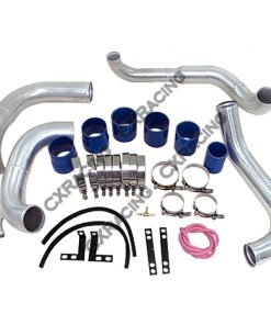 Cxracing Intercooler Kit For 89-99 Nissan 240SX S13 Chassis with S13 SR20DET Swap, Piping Kit Only