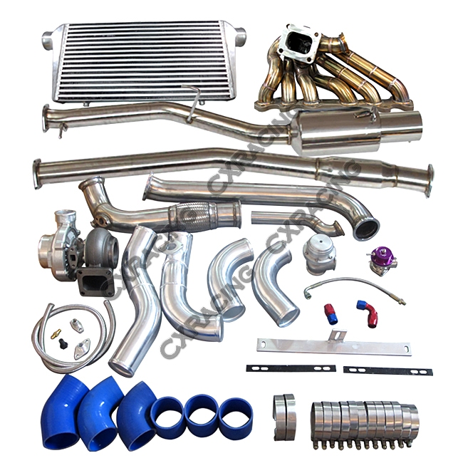 Turbo Manifold Downpipe Catback Intercooler Piping For Cressida MX83  2JZ-GTE 2JZGTE