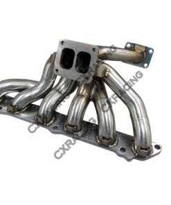 Cxracing Turbo Manifold For 86-92 Supra 7MGTE Keep Oil Filter NEW !!