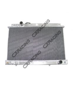 Cxracing Aluminum Radiator For TOYOTA 86-92 SUPRA MKIII 7M-GTE 7MGTE 1JZ-GE 1JZ-GTE MT