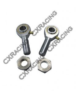 "Cxracing Rod End Ends Ball Bearing Joints+Jam Nut 3/4"" Rod 5/8"" Hole"