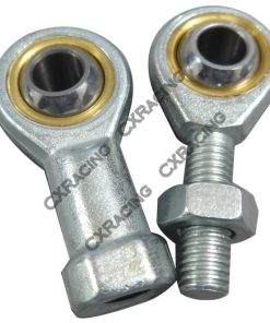 Cxracing Male Female Ball Joint Rod Ends M12 x 1.75 Steering Control Tie Arm Bushing Rods Heim