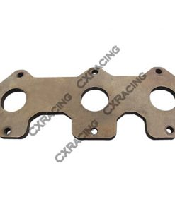 Cxracing Exhaust Manifold Steel flange For MAZDA Rotary 20B RX7 RX2 RX3