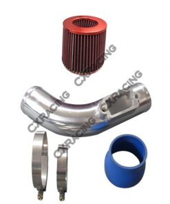 "Cxracing 3"" Intake Kit For 2JZGTE 2JZ 2JZ-GTE Motor Single Turbo S13 S14 Swap 98-05 IS300"