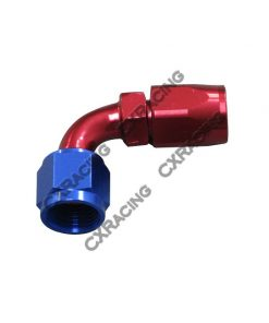 Cxracing AN 8 AN8 8AN 90 Degree Swivel Oil/Fuel Hose End Aluminum Oil Fitting