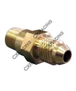 Cxracing GT25 GT28 GT35 T25 Copper Turbo AN4 Oil Feed Restrictor Fitting Inlet, M12 x1.0 Thread