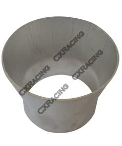 """Cxracing 4"""" to 3"""" OD Weld On Aluminum Reducer Pipe 2mm Thick 3"""" Long"""