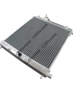"Cxracing Aluminum Heat Exchanger For Air to Water Intercooler Applications, Core: 14""x14""x1.65"""