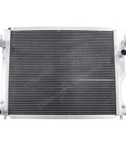"Cxracing Aluminum Radiator Shroud + 12"" Electrical Fans For 05-14 Ford Mustang"