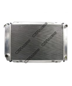 Cxracing Aluminum Radiator For 79-93 Mustang with Manual Transmission