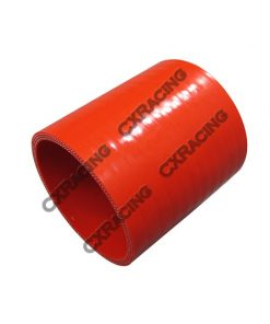"""Cxracing 2.5"""" Red Silicon Hose Coupler For Turbo Intercooler Pipe"""