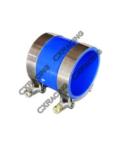 """Cxracing 2.5"""" BLUE SILICONE HOSE + T-CLAMP 2 INTERCOOLER/PIPING"""