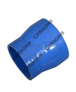 "Cxracing 2.5""-2.25"" Silicon Hose Reducer Coupler Straight for Intercooler Pipe 3"" Long"