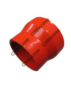 "Cxracing Red Silicon Hose 3.5""-3"" Reducer For Intercooler Pipe"
