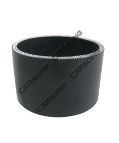 "Cxracing Black Silicon Hose 4.25"" Straight For Turbo Intercooler Pipe 55mm Long"