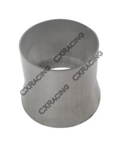 """Cxracing 3.5"""" to 3"""" 304 Stainless Steel Reducer Jointer Pipe Exhaust Catback"""