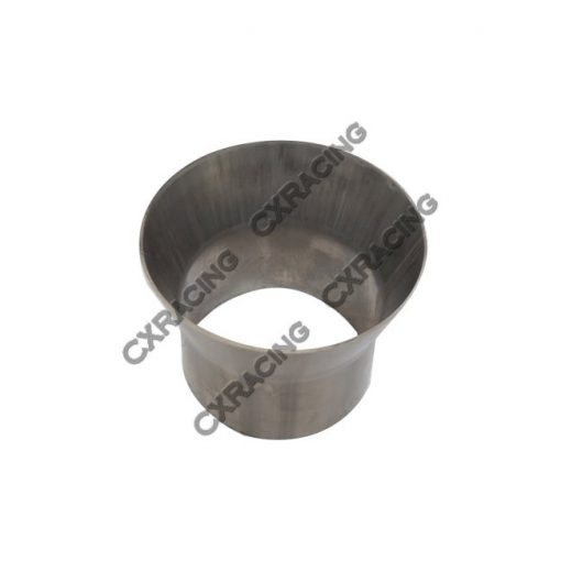 """Cxracing 4"""" to 3"""" 304 Stainless Steel Reducer Jointer Pipe Exhaust Catback"""