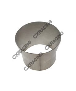 "Cxracing 4"" to 3.5"" 304 Stainless Steel Reducer Jointer Pipe Exhaust Catback"
