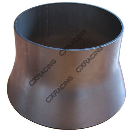 """Cxracing 5"""" to 4"""" 304 Stainless Steel Reducer Jointer Pipe Exhaust Catback"""