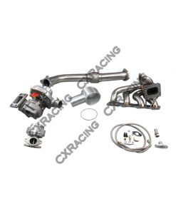 Cxracing Turbo Kit For 97-01 Nissan FRONTIER KA24DE T3 T04E Downpipe Wastegate