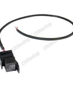 Cxracing 30A 12V DC Relay Wire Harness 3ft Long for ECU Fuel Pump