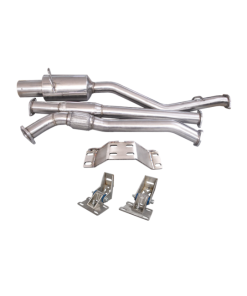 Cxracing 2JZ-GTE R154 Transmission Mounts Downpipe Catback For 86-92 Supra MK3