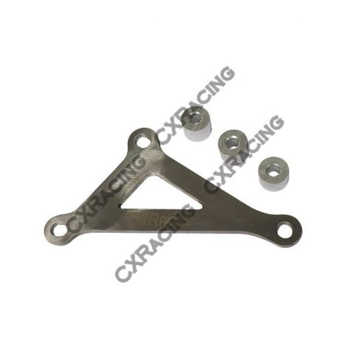 Cxracing A/C AC Delete Bracket Kit For 2JZGTE 2JZ-GTE 2JZ Swap 240SX 13 S14