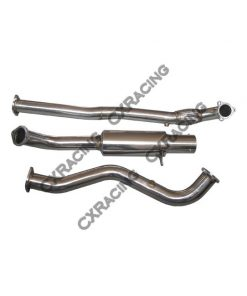 Cxracing Stainless Catback Exhaust For 82-83 Datsun 280ZX S130 L28ET Turbo