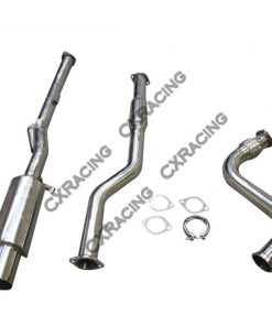 "Cxracing Turbo Catback Downpipe For BMW E30 325 3"" Exhaust Turboback"
