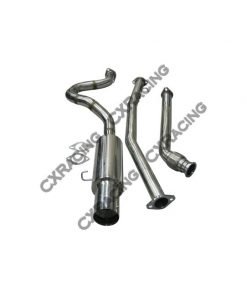 "Cxracing Exhaust Catback 2.5"" Stainless Steel for 83-87 Toyota Corolla AE86 RWD"