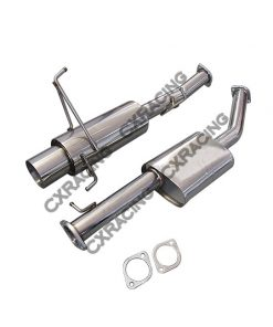 Cxracing Catback Exhaust System For 95-98 NISSAN 240SX S14 KA SR RB