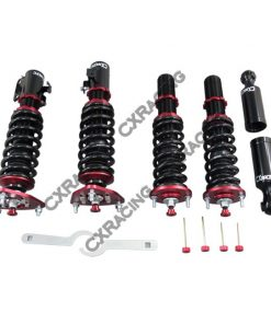 Cxracing Damper CoilOver Suspension Kit For 89-94 240sx S13 Camber plate Pillow Ball