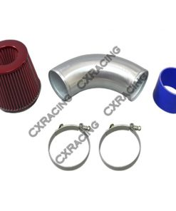 """Cxracing 4"""" Turbo Intake pipe Filter For 240SX S13 S14 RB20/25DET Top Mount Turbo RB"""