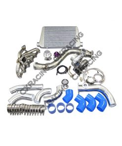 Cxracing Turbo Intercooler Piping Downpipe Catback Kit For 84-91 BMW E30