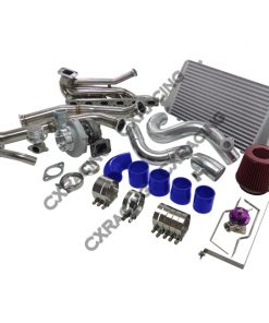 Cxracing Top Mount GT35 Turbo Kit Manifold Downpipe Intercooler For 92-98 BMW E36