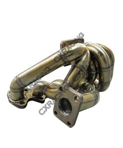 Cxracing GT35 Turbo Manifold Downpipe Oil Line Kit For Cressida MX83 2JZ-GTE 2JZGTE