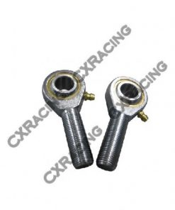 "Cxracing Rod End Ends Ball Bearing Joints+Jam Nut 7/8"" Rod 3/4"" Hole"