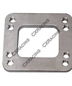 Cxracing T3/T4 Turbo Manifold Flange Adapter Stainless Steel T04E GT35