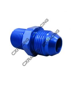 Cxracing Aluminum Coupler Connector Oil Fitting Connector AN8-M18 * 1.5 Thread 8AN AN 8