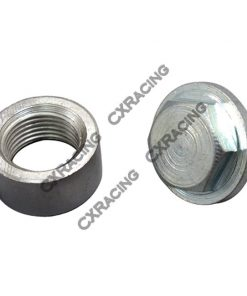 Cxracing 304 Stainless Steel O2 Bung Plug + Cap O2 Sensors Weld on