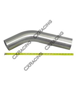 "Cxracing 4"" 45 Degree 304 Stainless Mandrel Bend Pipe Tubing Tube"