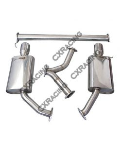 Cxracing Stainless Steel Catback Exhaust System For 2010+ Kia Optima 2.0T Turbo