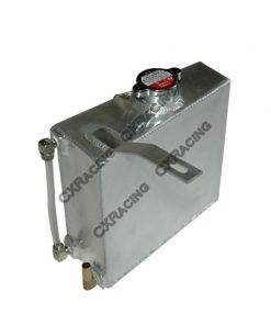 Cxracing Aluminum Coolant Overflow Tank For Supra MK III IV 7MGTE 2JZGTE