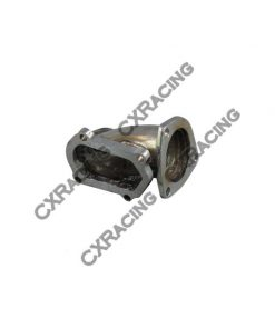 Cxracing O2 housing Stainless Turbo Elbow pipe for 86-92 Supra 7MGTE