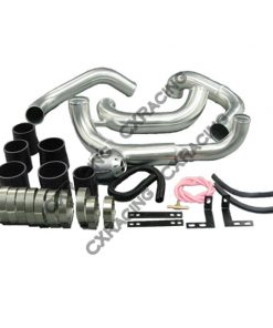 Cxracing Intercooler Piping Kit + HKS Style BOV For 89-99 240SX S13 SILVIA SR20DET