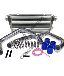 Cxracing Tube & Fin Front Mount Intercooler Kit For Nissan Skyline RB20 RB25 R32 R33