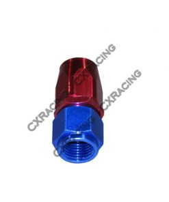 Cxracing AN 8 AN8 8AN Straight Reusable Hose End Anodized Aluminum Oil Fitting