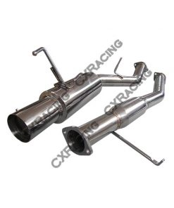 "Cxracing 3"" Turbo CatBack Exhaust For 240SX S13S14 2JZ-GTE 2JZGTE Swap Downpipe"