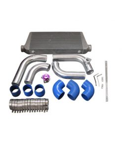 Cxracing Intercooler Piping BOV Kit For 2JZGTE 2JZ 2JZ-GTE Swap 240SX S13 S14 Single Turbo Top Mount